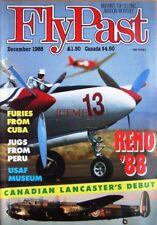 December 1988 'FLYPAST' Aviation Magazine - 'Canadian Lancaster's Debut'