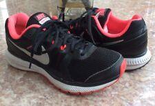Nike Zoom Winflo Women's Black/Hyper Punch Running Shoes Size 8 #684490-003 EUC