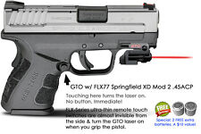 ArmaLaser GTO for Springfield XD Mod 2 .45ACP RED Laser Sight w/FLX77 Grip Touch