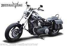 Buffalo Bag seattle 17l sacoche de selle gauche Harley Davidson Dyna street Bob FATBOB