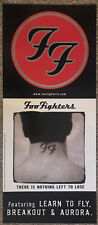 """Foo Fighters """"There Is Nothing Left To Lose"""" 2-Sided Promo Poster 12�X28� Mint"""