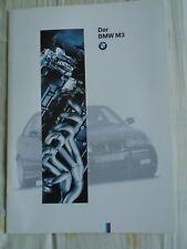 BMW M3 brochure 1994 Ed 1 German text