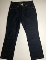 VTG Guess USA Women's Boot Leg sz 27 Dark Wash Denim Jeans Pants