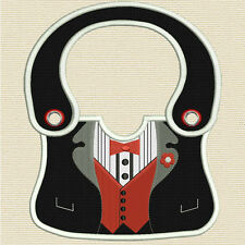 Completely made in the hoop Boy's Baby Bibs 5X 7 Hoop)Machine embroidery designs