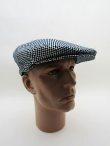 NEW LUXE CAP CHECKERED FLAG MAN Vintage CLASSIC RACING CAR MOTORCYCLE DRIVING