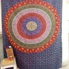 Dorm Decor Wall Hanging Hippie Tapestry Bohemian Bedspread Indian Ethnic Mandala