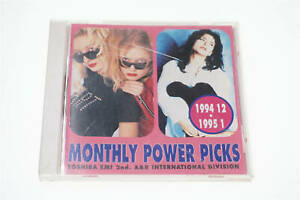 MONTHLY POWER PICKS TOSHIBA EMI 2ND.A&R INTERNATIOJAPANAL DIVISION CD A12986