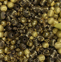 2 LB Lot - Metal Spacers BEAD Soup Jewelry Making Craft Supplies 8-25 MM (1001)