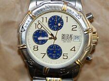 Designer Bill Blass Chronograph Men's Wristwatch Timepiece Japan Movement