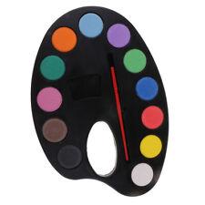 12 Colors Art Acrylic Watercolor Face Paint Pigment Kids Painting Art Sets