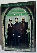 The Matrix Reloaded (DVD, 2003, 2-Disc Set, Widescreen) New Sealed Free Shipping