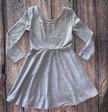 Xhilaration Girls Long Sleeve Gray Dress Size S/P
