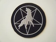 MARDUK PATCH Iron On Legion Pentagram Embroidered Black Metal Band Badge NEW