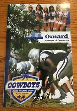 Dallas Cowboys 2006 Training Camp Program pamphlets Oxnard California