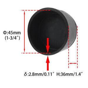 Flyshop 16-Pack Round Chair Leg Caps Feet Non-slip Rubber Tips Floor Protectors