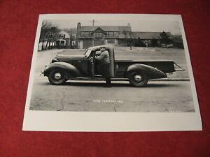 1938 Hudson Terraplane Pickup Truck Press Photo Sales Brochure old Original