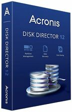 New Acronis Disk Director 12 Data Recovery, Partition Management for windows 3PC