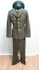 Full dress uniform of a soldier of the USSR Air Force