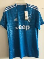 Adidas Juventus 3rd Kit 2019-20 Unity Blue White Soccer Jersey Size M Men's Only