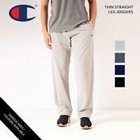 Vintage Champion Straight Leg Thin Jogging Bottoms Various Colours XS,S,M,L,XL,X