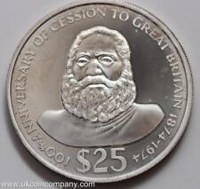 1974 Fiji Silver Proof $25 Coin