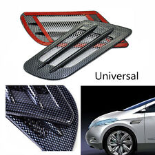Car Air Flow Vent Side Fender Mesh Cover Intake Grille Duct Decorative Sticker