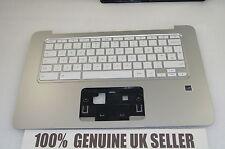 TESTED HP Chromebook 14-X006NA Laptop Palmrest Upper Cover Keyboard UK 787735-03