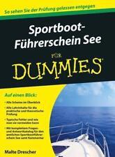 Sportbootführerschein See für Dummies - Malte Drescher - 9783527708192 PORTOFREI