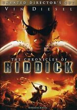 The Chronicles Of Riddick Widescreen Unrated Director's Cut On Dvd With Vin E74