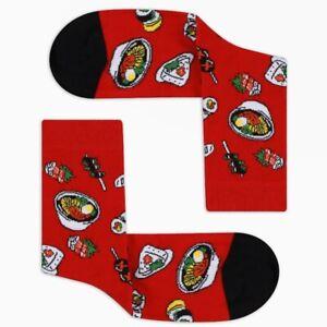 Women Sushi Socks Gift For Her Novelty Socks Funny Socks Cute Socks
