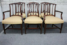 Great Set of Six English Regency American Made Mahogany Dining Room Chairs