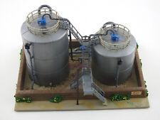 Kibri HO Oil Depot Tank Farm ESSO with box