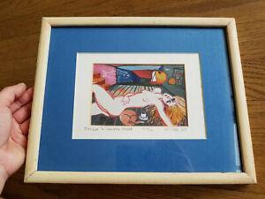 "Michael Leu  -- Signed Print Edition 11/30 -- ""Dream in Summer Night"""