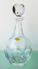 VERY ELEGANT! ANTIQUE LEAD CRYSTAL DECANTER.  SURFACE HULLED, 1447grams
