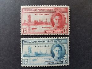 Omnibus - Somalialand - 1946 - Sc 108 - 09 - Peace Issue  MH