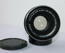 Carl Zeiss Jena Pancolar 50mm f1.8 Manual Prime Lens Pentax M42 Screw Mount.