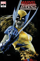 Marvel Zombies 1 2020 Mike Mayhew Wolverine X-23 Homage Trade Variant X-Men 10