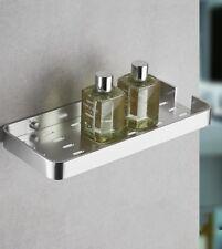 Silver Space Aluminum Bathroom Shelves Kitchen Wall Shower Storage Rack Bracket