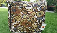 """Diaper Bag by Raa Kha  Green,  Brown, and White 15"""" x 13"""" x 5"""" with BLING!"""