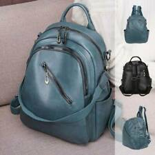 Women Ladies Backpack Travel Shoulder Bag Leather Flap Rucksack School HandbagUK