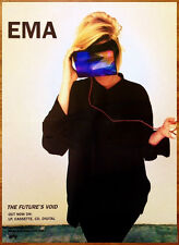 EMA The Future's Void Ltd Ed New HUGE RARE Poster +FREE Indie Pop Rock Poster!
