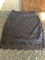 Urban Outfitters Kimchi Blue Black Lace Lined Skirt, NWOT Size Small