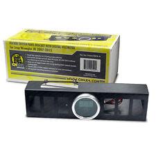 Rocker switch panel bracket with digital voltmeter for Jeep Wrangler JK 10-15