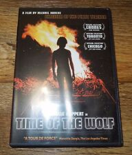 TIME OF THE WOLF (DVD, 2003) Isabelle Huppert Patrice Chereau Beatrice Dalle LN