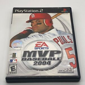MVP Baseball 2004 Sony PlayStation 2 PS2 Complete & Tested