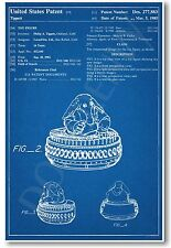 Star Wars Max Rebo Patent - NEW Invention Patent Movie Art POSTER