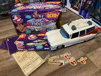 Vintage 1989 Kenner The Real Ghostbusters ECTO-1A Worn Box Used