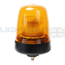 Britax Single Bolt Mount Agriculture Plant LED B91 Strobe Flashing Amber Beacon