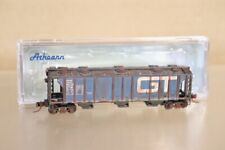 ATHEARN ATH3840 WEATHERED GRAND TRUNK WESTERN GTW COVERED HOPPER WAGON 113955