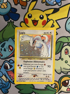 ✨ Lugia 9/111 Neo Genesis Holo Rare (French) Pokemon Card 2000